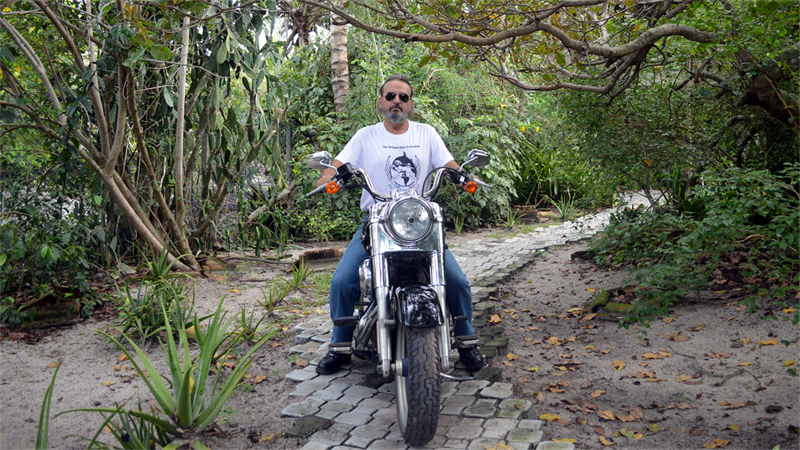Movimento mundial de motociclistas contra o cativeiro de orcas. Foto: Milton Marcondes